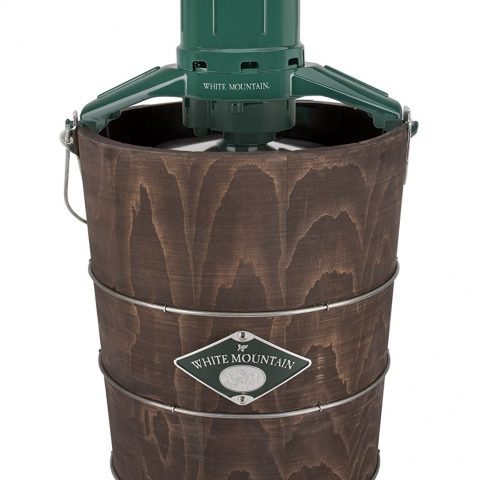 White Mountain Ice Cream Maker with Appalachian Series Wooden Bucket